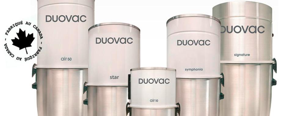 Duovac system central d'aspiration
