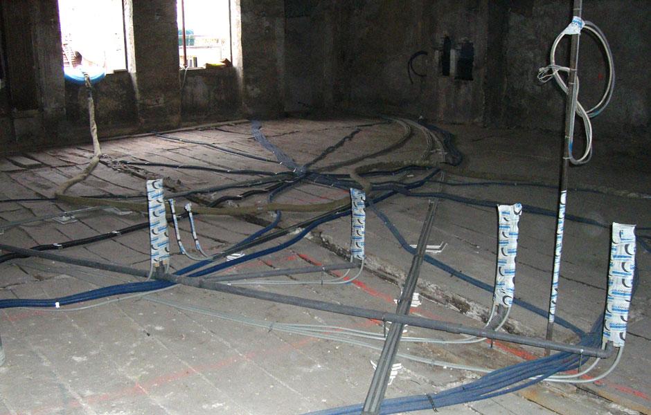 Travaux d'isolation pour un projet en construction à Dijon