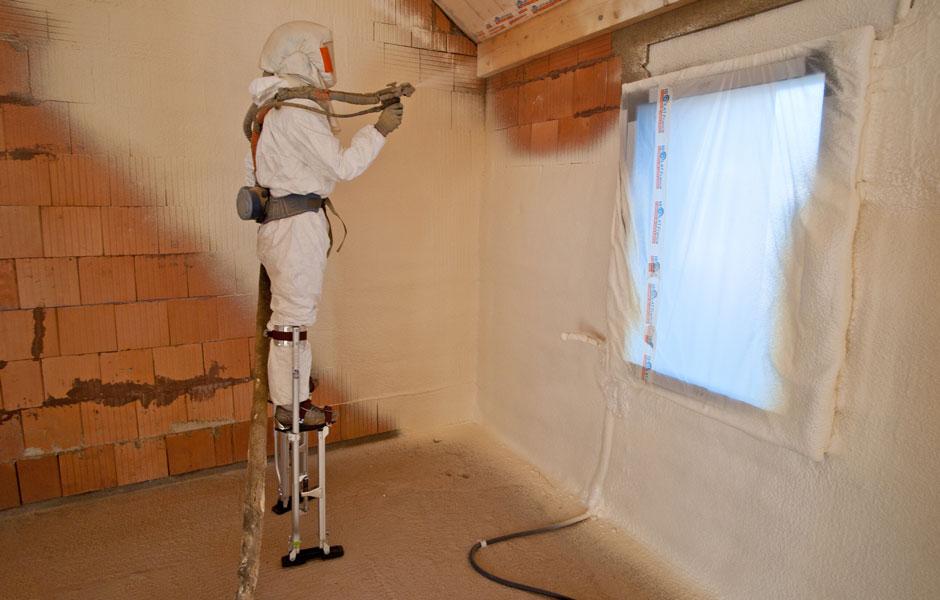 Travaux d'isolation pour habitat en construction à Dijon